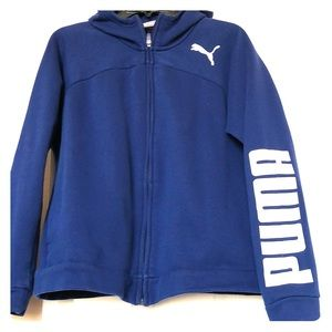 PUMA Women's Hooded Zip Sweatshirt